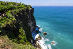 View of Pura Uluwatu temple Royalty Free Stock Image