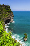View of Pura Uluwatu temple Royalty Free Stock Photos