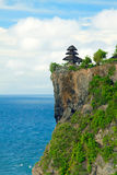 View of Pura Uluwatu temple Royalty Free Stock Photo