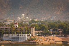View of Pushkar City, India Royalty Free Stock Photo