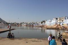 View of Pushkar Lake Royalty Free Stock Images