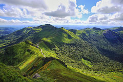 View from Puy de Sancy Stock Images