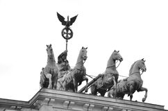 View of the Quadriga Royalty Free Stock Images