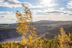 View of the iron ore mine Stock Photos