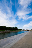 View of quay Royalty Free Stock Photo