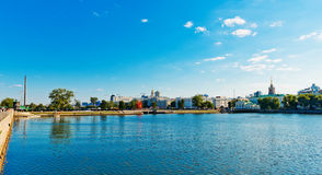 View of Yekaterinburg. Russia Royalty Free Stock Photos
