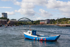 View From the Quayside Stock Images