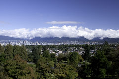 View from Queen Elizabeth Park Royalty Free Stock Photos