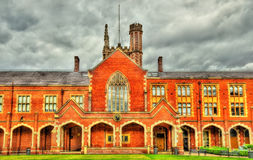 View of Queen's University in Belfast Royalty Free Stock Photography