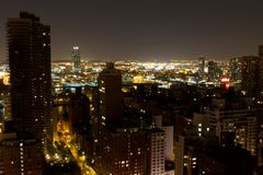 View of Queens from 59th & 2nd in Manhattan Stock Images
