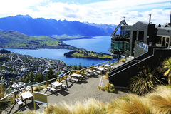 View of Queenstown and The Remarkables, New Zealand Royalty Free Stock Photography
