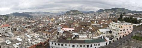 View of Quito capital City of Ecuador Stock Image