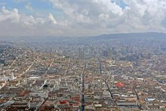View on quito city. ecuador Royalty Free Stock Photo