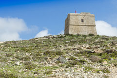 View of Rabat (Victoria) fortress (Gozo, Maltese islands) Royalty Free Stock Photos