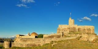 Fortress Rabat in Akhaltsikhe, Georgia. View of Rabati castles, fortress in Akhaltsikhe, Georgia stock photo