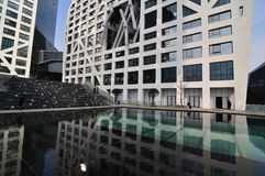 View of the Raffles City Shopping Centre in Chengdu Stock Image