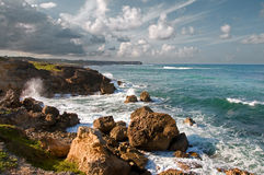 A View of Ragged Point Royalty Free Stock Photo