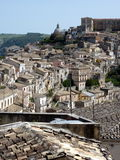 View of Ragusa Ibla Stock Photos
