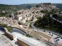 View of Ragusa Ibla stock image