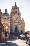 View of Ragusa, Sicily, Italy Royalty Free Stock Images