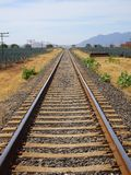 Railroad view royalty free stock photos