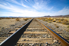 View of Railroad Tracks Royalty Free Stock Photos