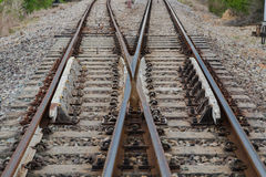 View of the railway Royalty Free Stock Photos