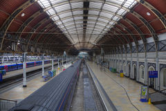 View of Railway station Royalty Free Stock Images