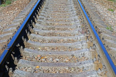 View of the railway track Royalty Free Stock Photos
