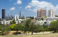 View of Ramat Gan Royalty Free Stock Image