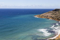 View on Ramla Bay on Malta on Mediterranean Sea, Europe Stock Photography