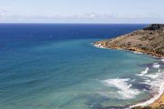 View on Ramla Bay on Malta on Mediterranean Sea, Europe Stock Photography