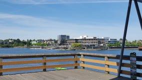 View. Random dock in victoria Stock Photos
