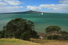 View of Rangitoto Island Royalty Free Stock Photo