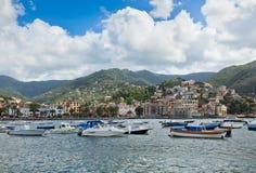 View of Rapallo, Italy royalty free stock photo