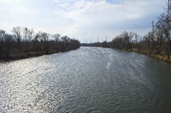 Raritan River View Stock Images