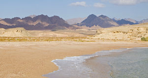 View of Ras Mohammed in Egypt. View of Ras Mohammed in the red sea Egypt Royalty Free Stock Image