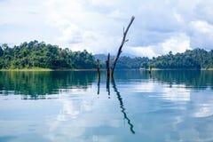View of Ratchaprapa dam Stock Image