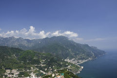 View from Ravello on Italys Amalfi Coast Stock Photos