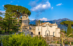 View of Ravello village on the Amalfi Coast. In Italy Royalty Free Stock Image