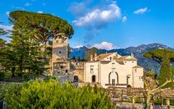 View of Ravello village on the Amalfi Coast Royalty Free Stock Image