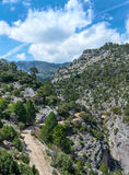 View from the Ravine Barranco Valentin Stock Photo