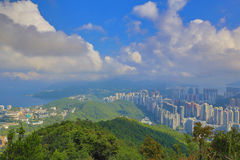 View from Razor Hill CWB and TKO Royalty Free Stock Photography