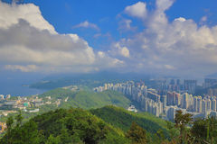 View from Razor Hill CWB and TKO Royalty Free Stock Photos