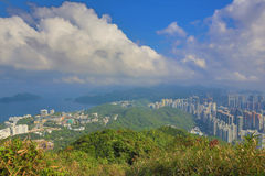 View from Razor Hill CWB and TKO Royalty Free Stock Image