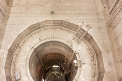View into the reactor pressure vessel of Nuclear Power Plant Stock Photos