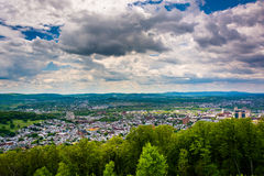 View of Reading from the Pagoda on Skyline Drive in Reading, Pen Royalty Free Stock Image