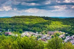 View of Reading from the Pagoda on Skyline Drive in Reading, Pen Royalty Free Stock Photos