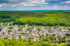 View of Reading from the Pagoda on Skyline Drive in Reading, Pen Stock Photos
