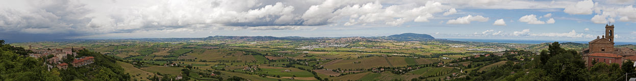 View from Recanati Royalty Free Stock Image